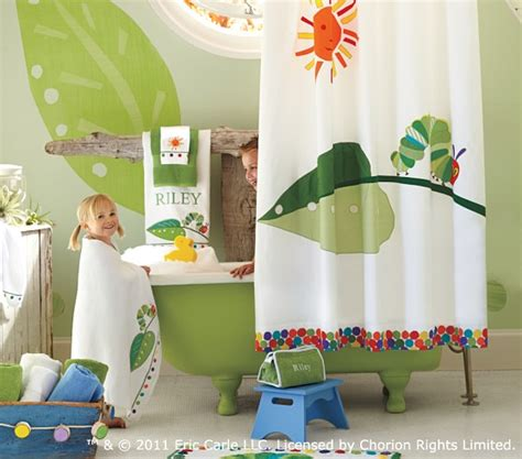 pottery barn kids bathroom ideas the very hungry caterpillar bath towel set pottery barn