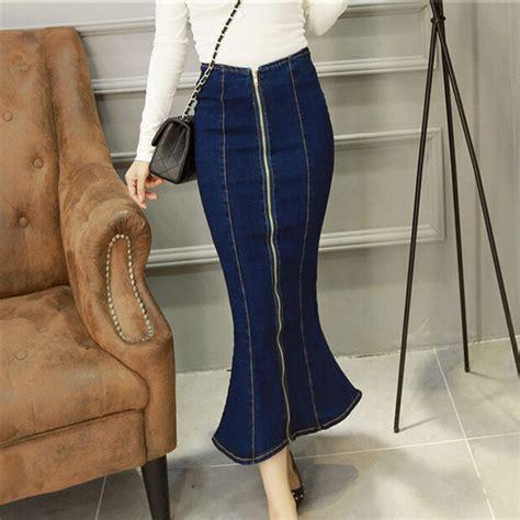 popular designer denim skirt buy cheap designer