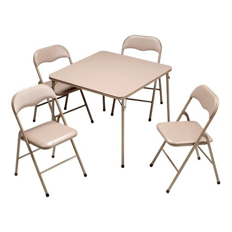 Wood Folding Table And Chairs Set Folding Table And Chair Sets Marceladick