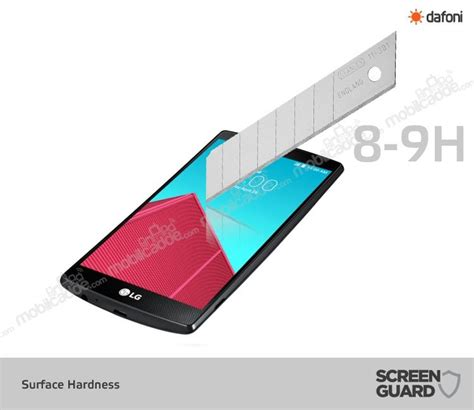 Tempered Glass Premium Lg G4 dafoni lg g4 tempered glass premium ekran