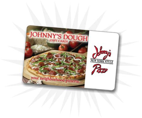 Table Pizza Gift Card by Gift Cards Restaurant Corporate Johnny S Pizza
