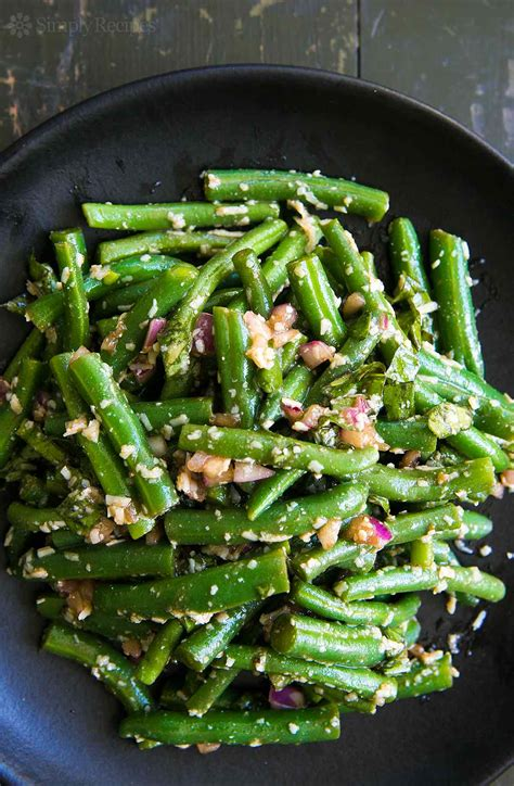 green recipe green bean salad with feta cheese