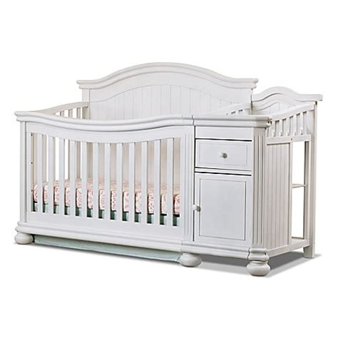 sorelle crib and changer sorelle finley 4 in 1 convertible crib and changer bed