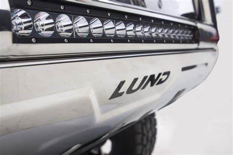 Lund Bull Bar With Led Light Bar Partcatalog Com Bull Bar Led Light Bar