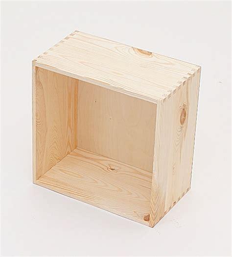 regal 30 x 30 holzkiste holzbox regalsegment 30 x 30 x 17 cm wohn
