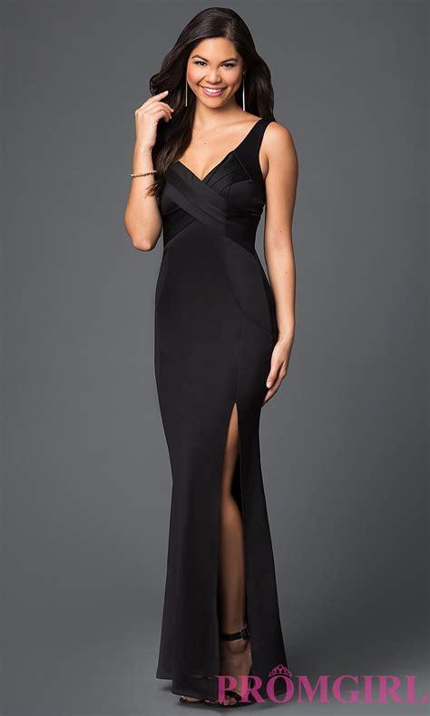 Dress Black black prom dress inexpensive black gown