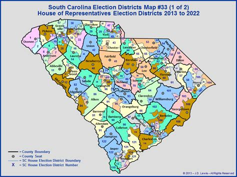 sc house of representatives south carolina general assembly the house of representatives districts today