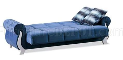 Sofa Bed Montreal Montreal Sofa Bed In Blue Fabric By Empire W Options