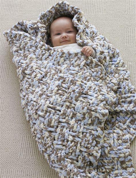 Yarn Baby Blanket Patterns by Bernat Weaver Blanket Crochet Pattern Yarnspirations