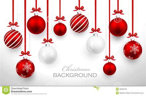 christmas balls stock vector image of christmas festive