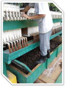 Mesin Press Linen filter cloth filter press