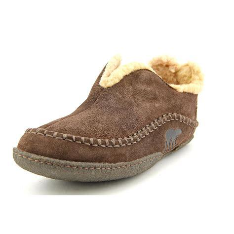 sorel manawan slippers sorel manawan mens size 10 brown suede slipper shoes used