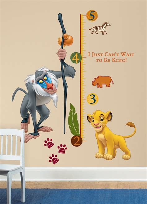 Disney Lion King Wall Decal Sticker Lion King Pinterest King Nursery Wall Decals