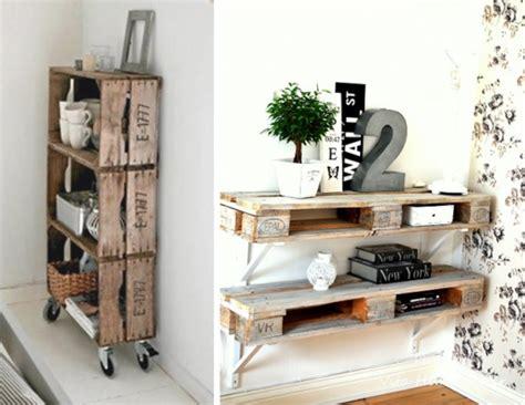 des meubles en palettes joli place