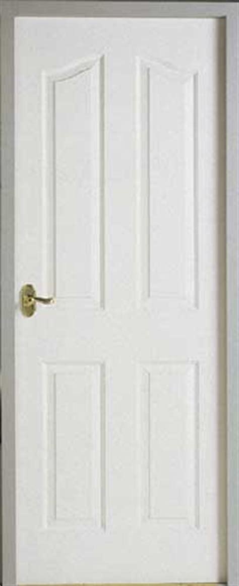 white 4 panel interior door 4 panel arched textured white primed door