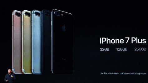specs rundown the apple iphone 7 and 7 plus