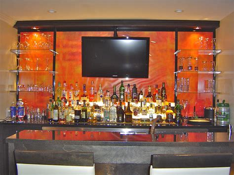 Bar Shelf Ideas Bar Glass Shelving Bartender Uniforms Ideas For Bar