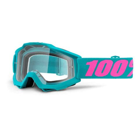 100 motocross goggles 2016 100 accuri mx motocross goggles clear