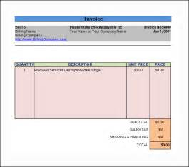Invoice Template For Consulting Services Word Invoice Sample 11 Documents In Word
