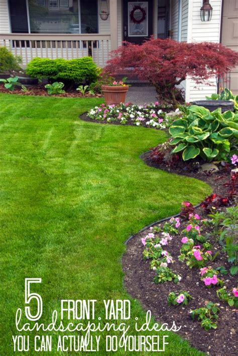 diy front yard ideas easy diy curb appeal fixes remodelaholic