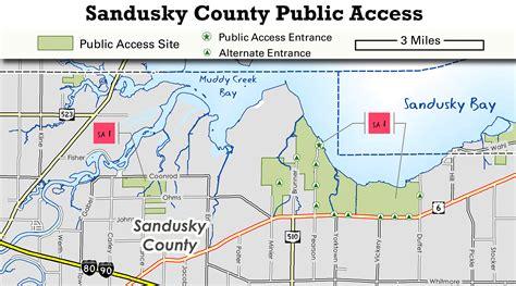 Sandusky County Records Ohio Dnr Lake Erie Access Guide Sandusky County