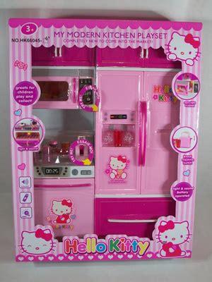 lemari pajangan panjang 25cm lebar 10cm tinggi 765cm 5 susun kitchen set karakter hello toko anak islam