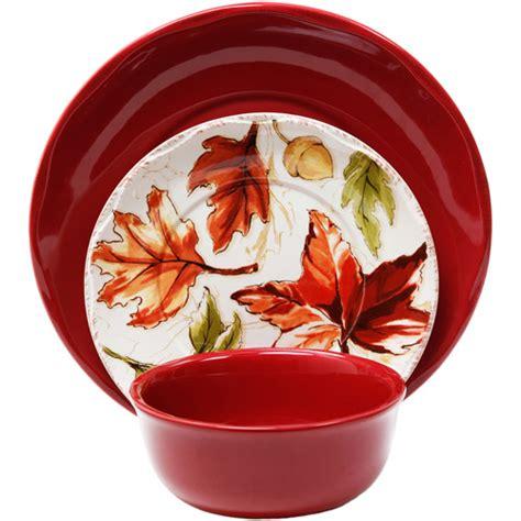 better homes and gardens fall dinnerware better homes and gardens harvest 12 dinnerware set
