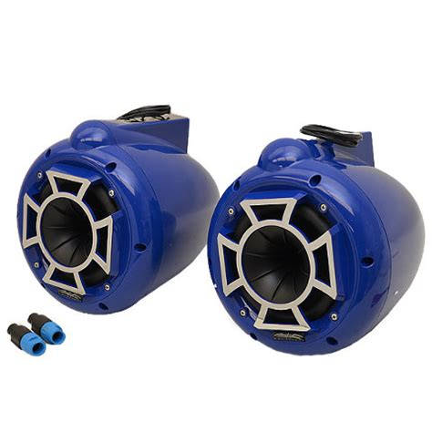boat tower speakers wet sounds wet sounds boat tower speakers pro 60 c 6 1 2 inch blue