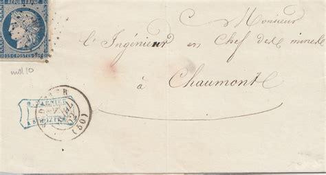 Brief Nach frankreich 1852 brief nach chaumonte 183 philarena