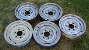 Chevy Truck Steel Wheels 6 Lug 5 Oe 6 Lug Chevy Gmc 15 X 5 5 Steel Wheels 15x5 5 5 1 2