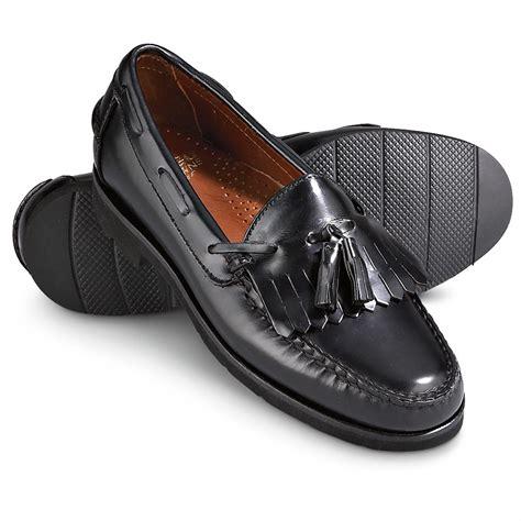 mens black tassel loafers s sebago 174 brume tassel loafers black 141120 dress