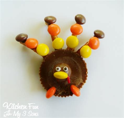 How To Make A Turkey Out Of A Paper Bag - reese s peanut butter turkey family crafts