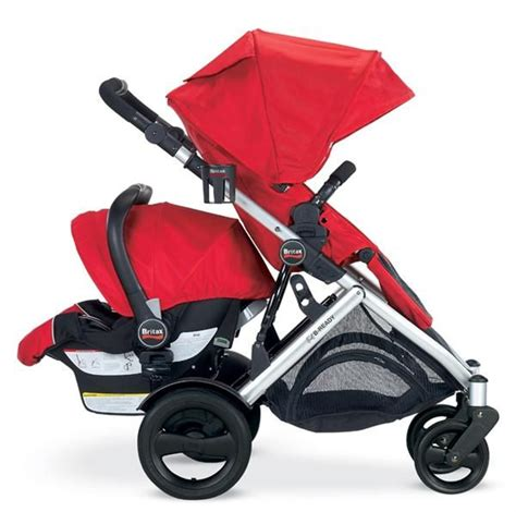 britax stroller configuration   facing stroller