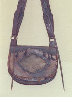 Lancaster Pouch pouch mountain possibles bag with knife sheath