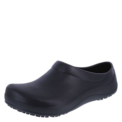 mens nursing shoes safetstep slip resistant s clog payless