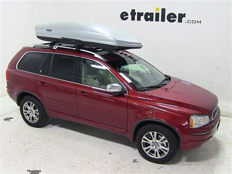 volvo cargo carrier volvo xc90 thule sonic rooftop cargo box 22 cu ft