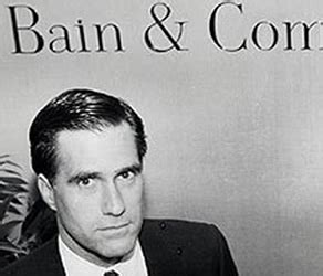 Bain Capital Post Mba by Romney Denies Heard Of Bain Capital