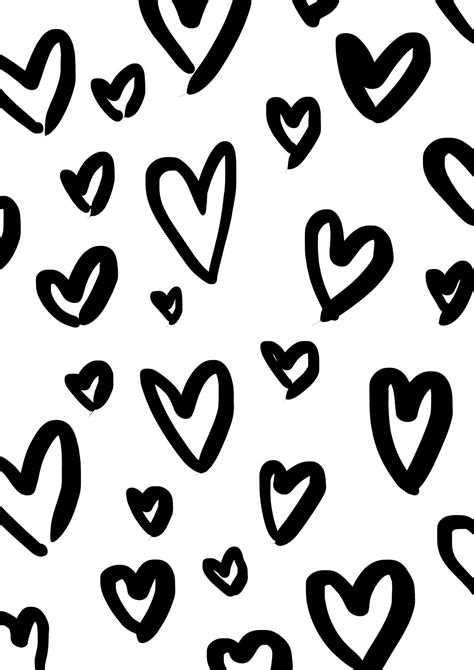 free printable wrapping paper a4 printable wrapping paper hearts by maiko nagao coloring