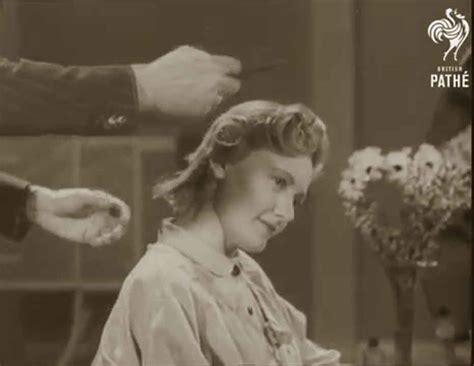 original 1940s hair tutorials uk 1940s hairstyles british wartime hairdos glamourdaze
