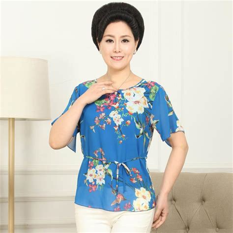 fashion styles for middle age oriental women 2015 summer style middle aged women blouses mother