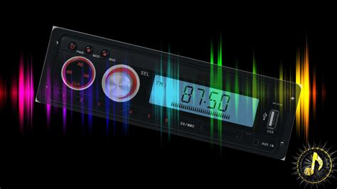 radio background fm radio tuning with driving background sound effect
