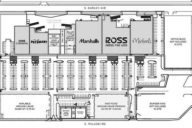 Floor Plans For Retail Stores by New Strip Mall Stores Include Marshall S Michael S Ross