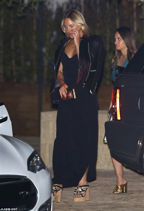 D973 Maxi Set Matt Dress kate hudson sets pulses racing in backless black gown with