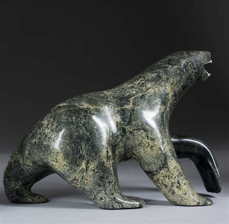 soapstone carving inuit soapstone carved polar sculptures bears