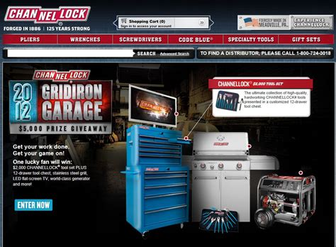 Garage Sweepstakes - gridiron garage giveaway sweepstakes