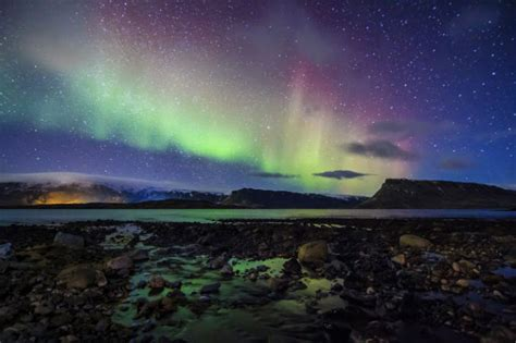 iceland northern lights season how to travel europe with a low canadian dollar flight