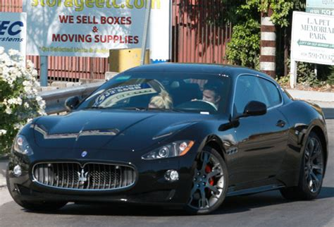 maserati celebrity britney spears cars celebrity cars blog