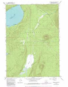 crescent lake topographic map or usgs topo 43121d8