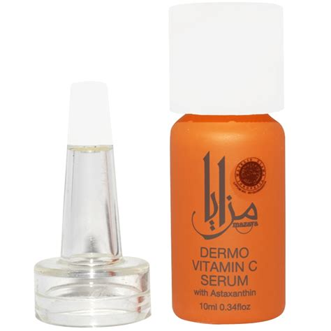 Serum Mazaya mazaya dermo vitamin c serum with astaxanthin 10ml gogobli