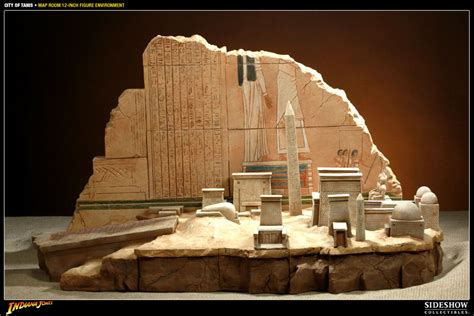 room mapping indiana jones city of tanis map room sixth scale figure